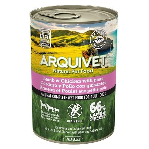 Comida húmeda Wet Food Adult para perros sabor Cordero/Pollo