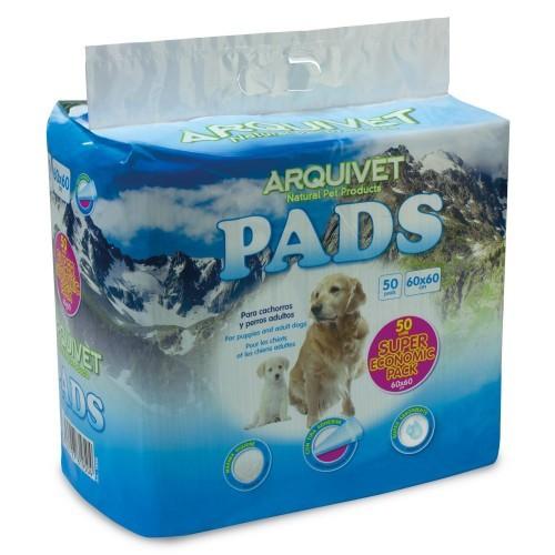 Pack de 50 empapadores para cachorros y perros adultos
