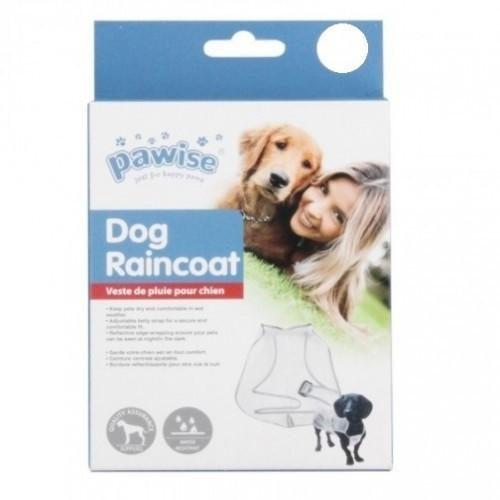 Chubasquero impermeable para perros color Transparente
