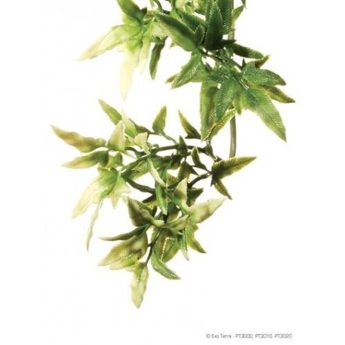 Planta de plástico Croton para reptiles