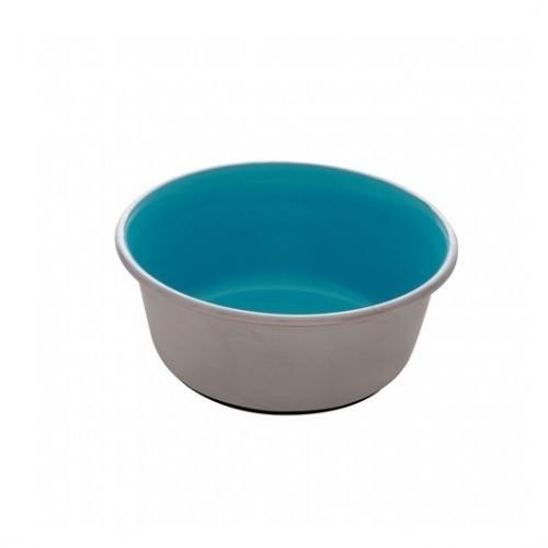 Dogit Comedero Acero Inox Anti Desliz color Azul