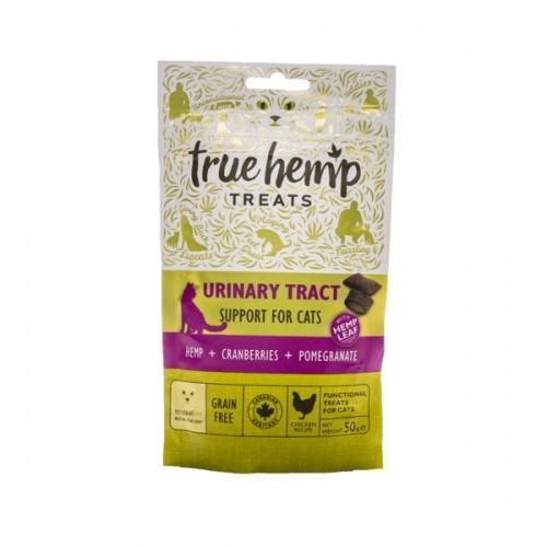 Snacks True Hemp Urinary Tract para gatos sabor Pollo