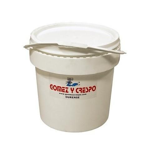 Deposito de plástico agujereado 16 litros color Blanco