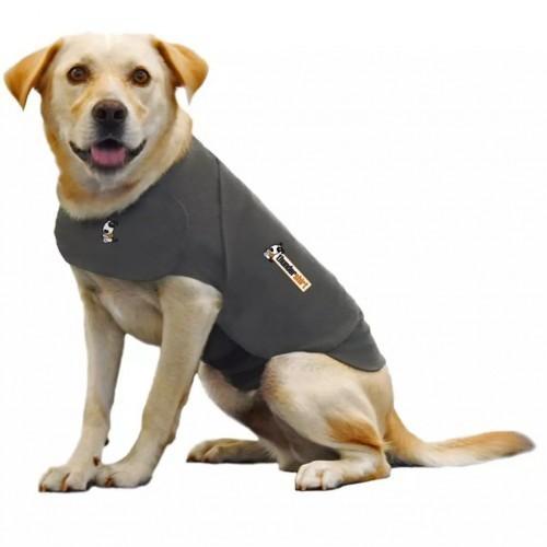 Abrigo anti ansiedad para perros color Gris