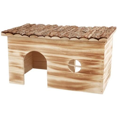 Casa exterior para conejos color Marrón