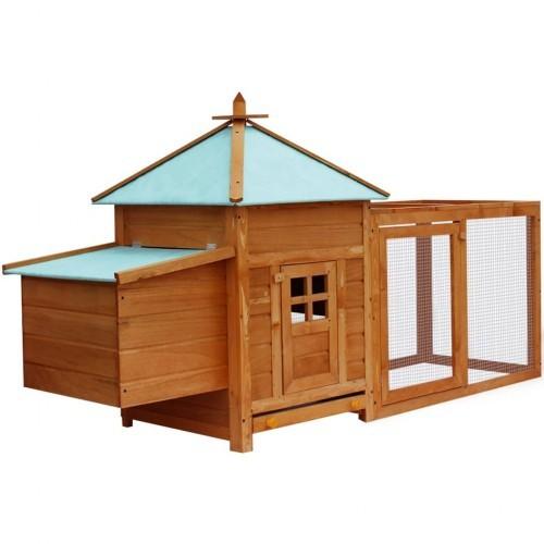 Gallinero de madera para exterior