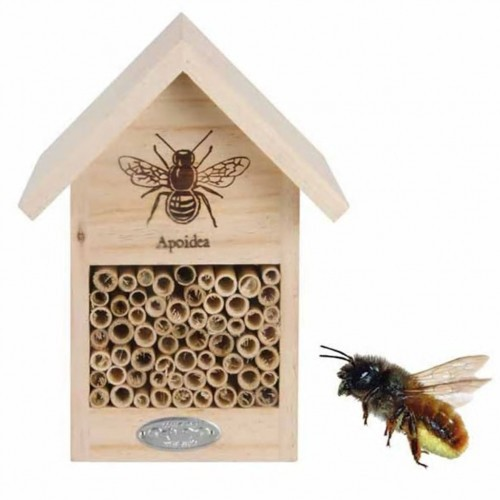Refugio de madera para abejas