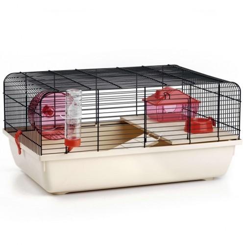 Jaula Rex para roedores color Negro