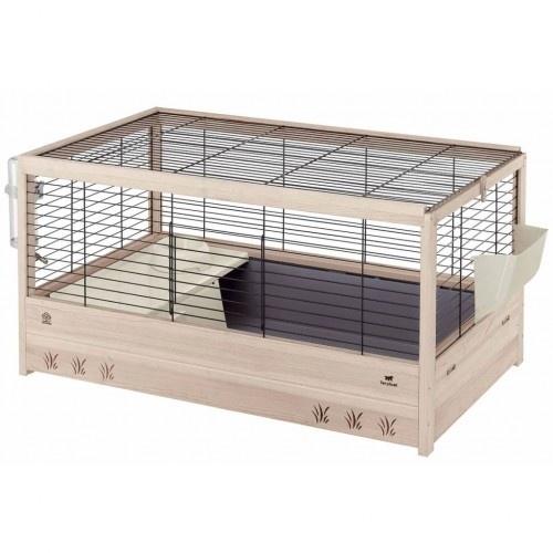 Jaula para conejos color Negro y Beige