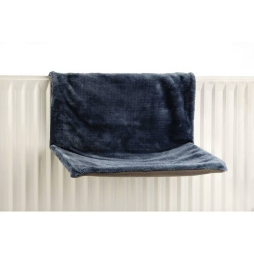 Hamaca de radiador para gatos color Azul