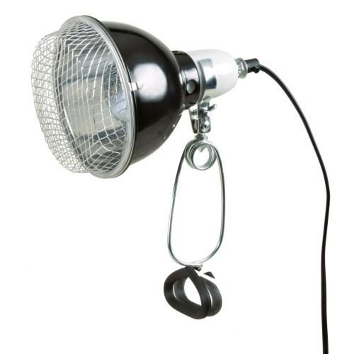 Lámpara para terrario color Negro