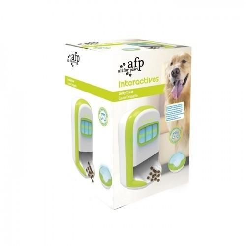 Dispensador de snacks interactivo para perros