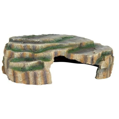 Cueva decorativa para terrario color Marrón
