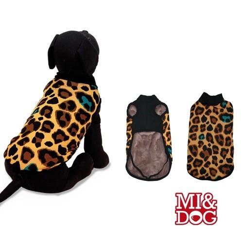 Abrigo con capa felpado Animal Print color Guepardo