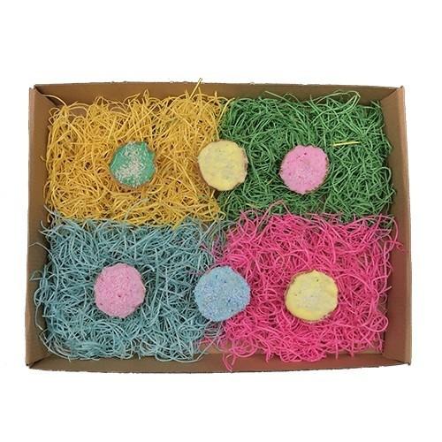 Minis cupcakes para perros color Rosa sabor Zanahoria