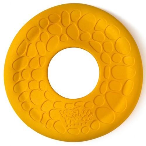 Disco volador para perros color Amarillo