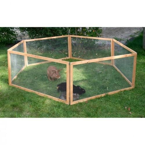 Parque de seguridad para roedores color Marrón