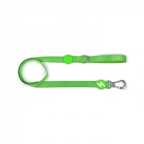 Correa de nylon para perro color Verde