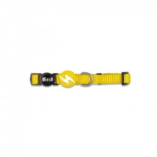 Collar de nylon para gatos color Amarillo