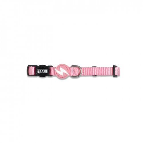 Collar de nylon para gatos color Rosa Claro