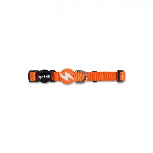 Collar de nylon para gatos color Naranja