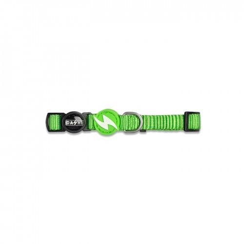 Collar de nylon para gatos color Verde