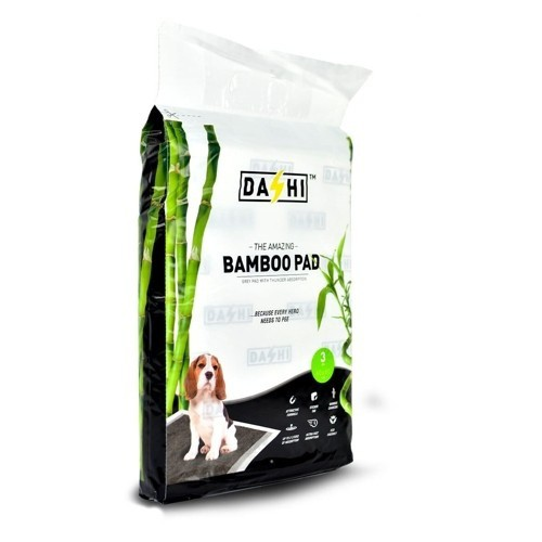 Alfombra absorbente de bambú para mascotas