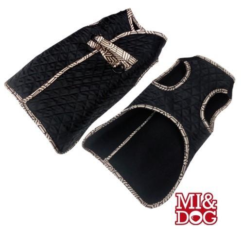 Chaleco de paseo para perros color Negro