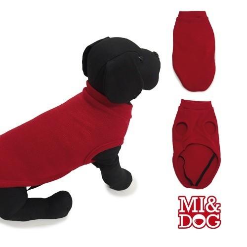 Jersey Liso para perros color Rojo