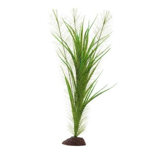 Planta artificial Valisneria 40 cm color Verde