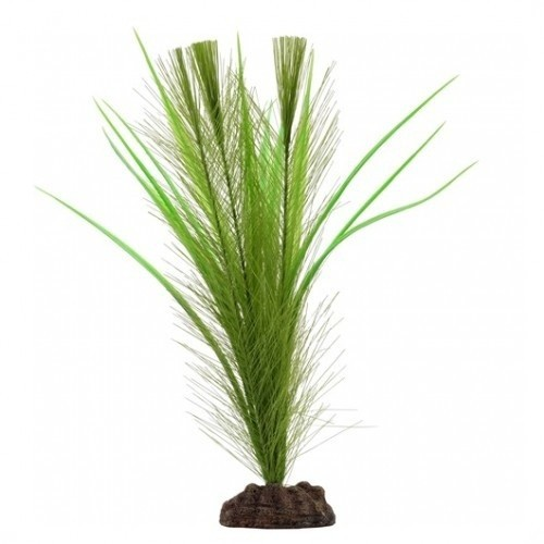 Planta artificial Valisneria 20 cm color Verde
