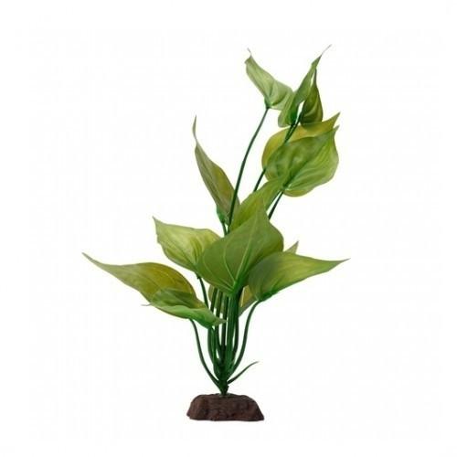 Planta artificial Varigated Lizard's 30 cm color Verde