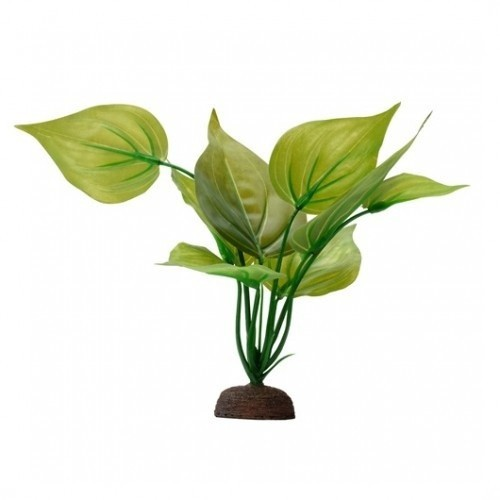 Planta artificial Varigated Lizard's 20 cm color Verde