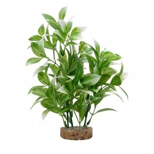 Planta artificial Ludwigia 20 cm color Verde