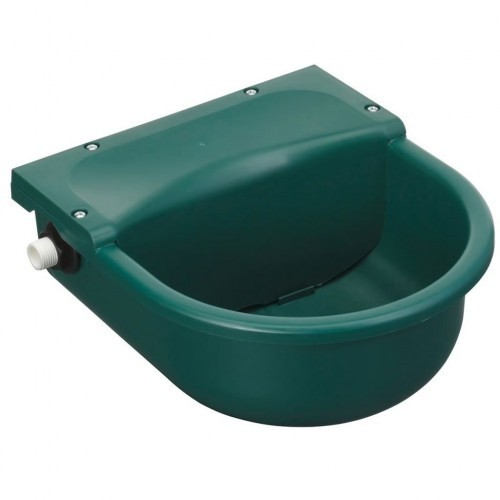 Bebedero flotante para mascotas color Verde