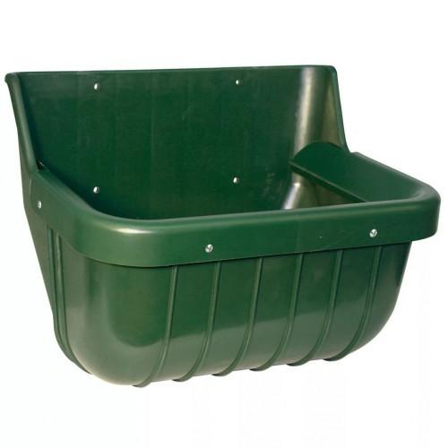 Comedero de plástico para mascotas color Verde