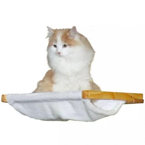 Hamaca Dolomit de pared para gatos color Blanco