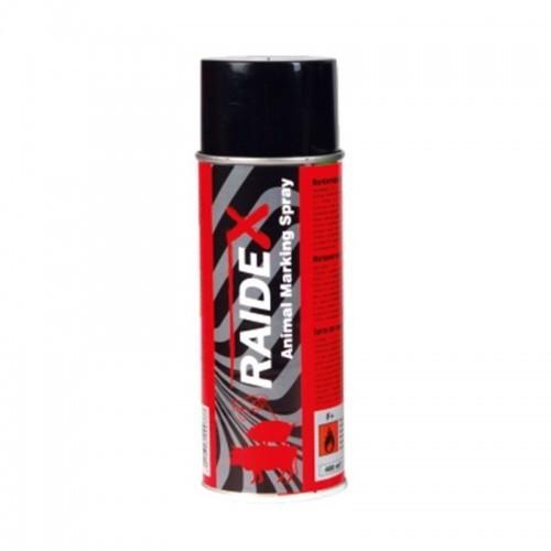 Spray marcador Raidex para animales de granja color Rojo