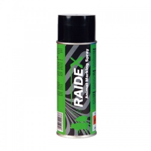 Spray marcador Raidex para animales de granja color Verde
