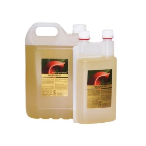Aceite rico en ácidos de omega 3 para caballos sabor Suave Ajo