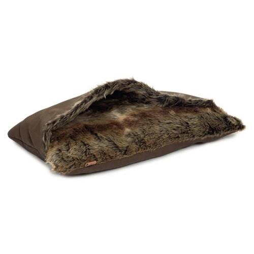 Saco de dormir Rizla para perros color Marrón
