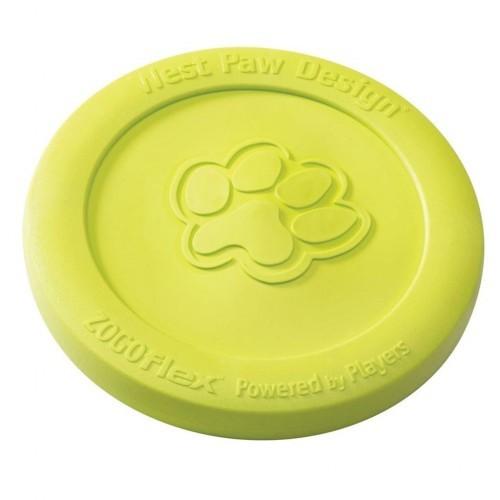 Plato volador para perros color Verde