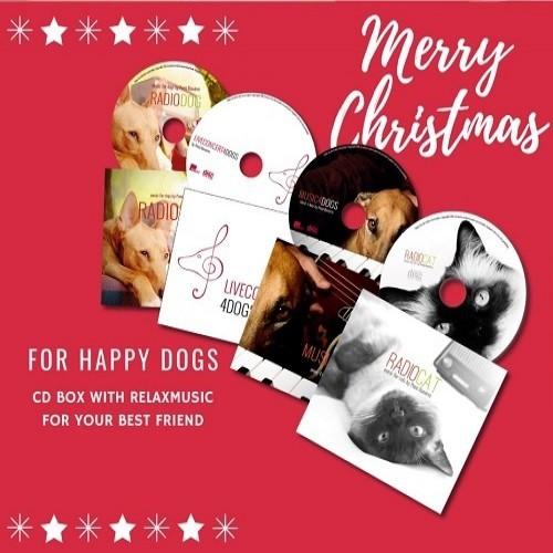 Pack 4 CDs de música para perros y gatos color Varios