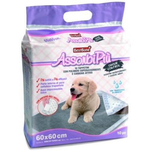 Empapadores de carbón activo para perros