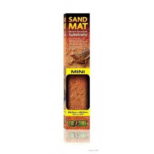 Sustrato Sand Mat Mediano para terrarios