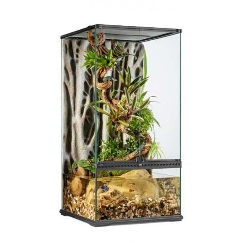 Terrario Paludarium para reptiles color Transparente