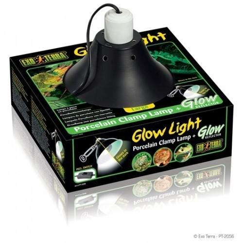 Lámpara de iluminación Glow Light para terrarios