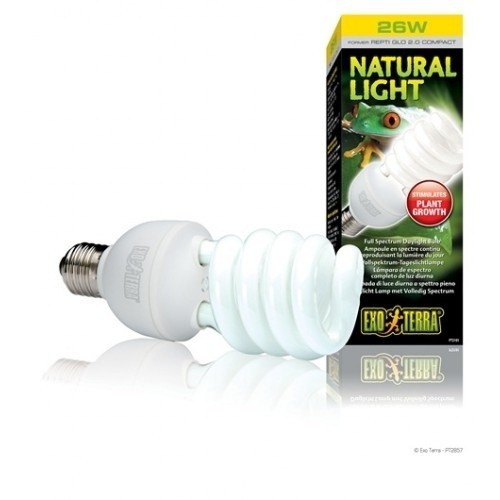 Bombilla Natural Light para reptiles y anfibios