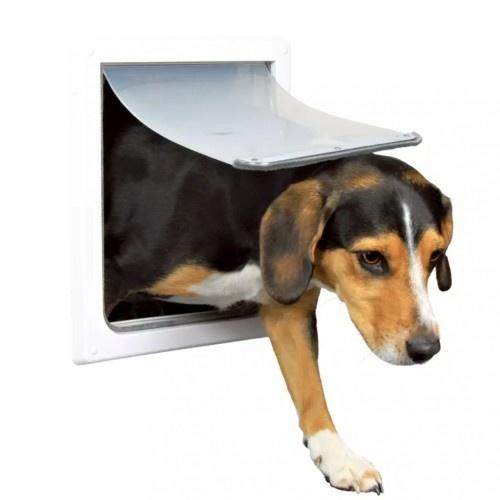 Puerta para perro color Blanco