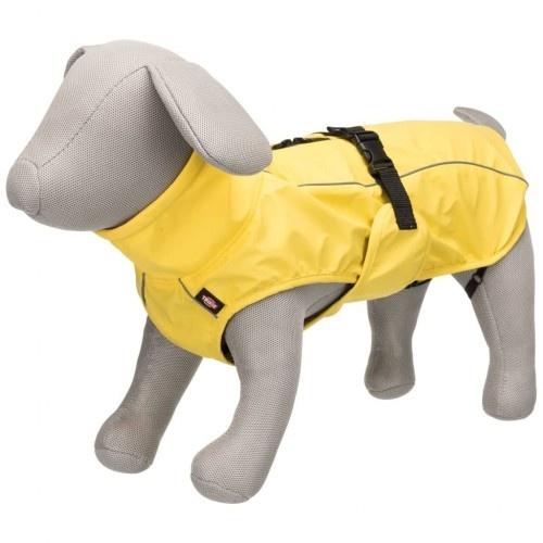 Impermeable y reflectante para perros color Amarillo